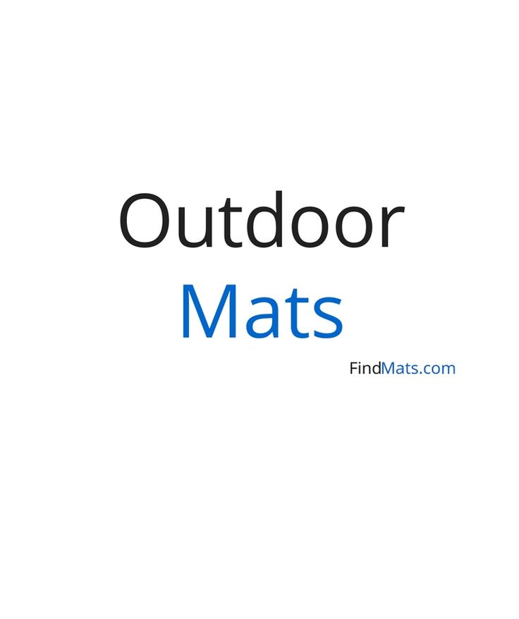 Outdoor rubber mats for playground, play areas and much more!