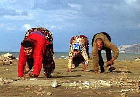 17-Jul-2014 12:30 - VIERBENIGE TURKSE FAMILIE IS GEEN ACHTERWAARTSE EVOLUTIE. Vijf leden van een Turkse familie lopen op hun handen en voeten. Dit is apart, want de mens is geëvolueerd om op twee benen te lopen. Is dit een gevalletje achterwaartse evolutie? Oftewel, worden deze mensen weer aap? Nee, beweert antropoloog Liza Shapiro van de universiteit van Texas. De handenlopende mensen kregen na de ontdekking...