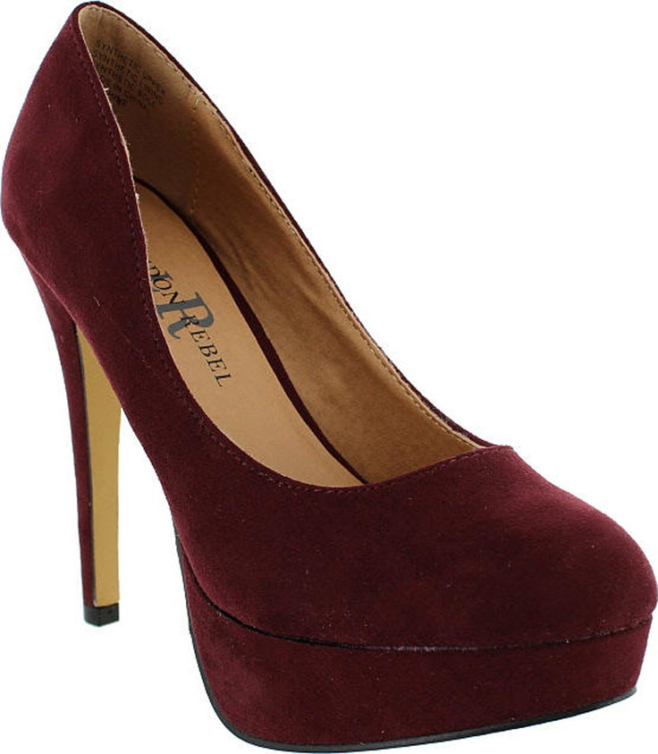 Sunshine | The Shoe Shed | Microsuede, Rebel, Sign, Colour, Size, Burgandy | buy womens shoes online, fashion shoes, ladies sho