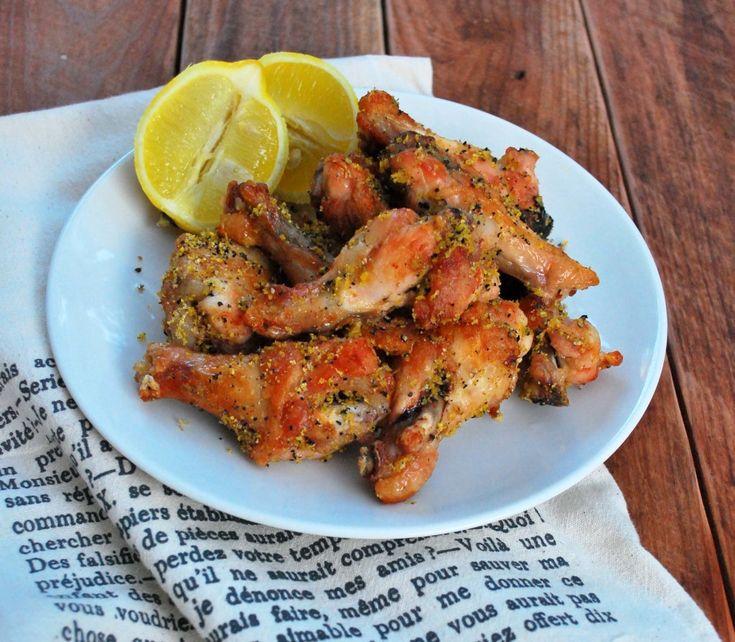 #Alitas Chicken #Wings de Lemon Pepper ♥