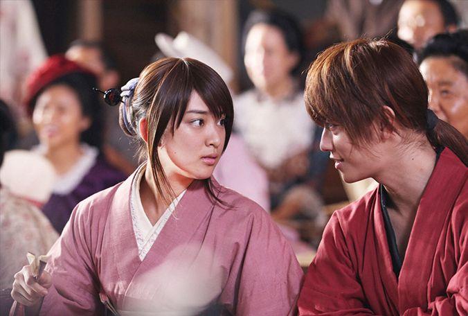 Rurouni Kenshin - Kenshin Himura - Kaoru Kamiya - The Great Kyoto Fire Arc - Takeru Sato - Emi Takei