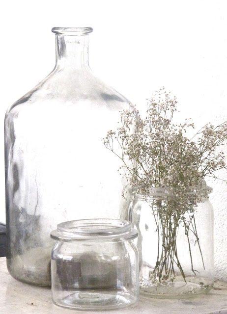 Styling Vaas van gerecycled glas