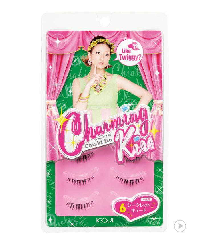 Charming Kiss Eyelash No.6 Secret Cute                          챠밍키스 아이래쉬 NO.6 시크릿 큐트