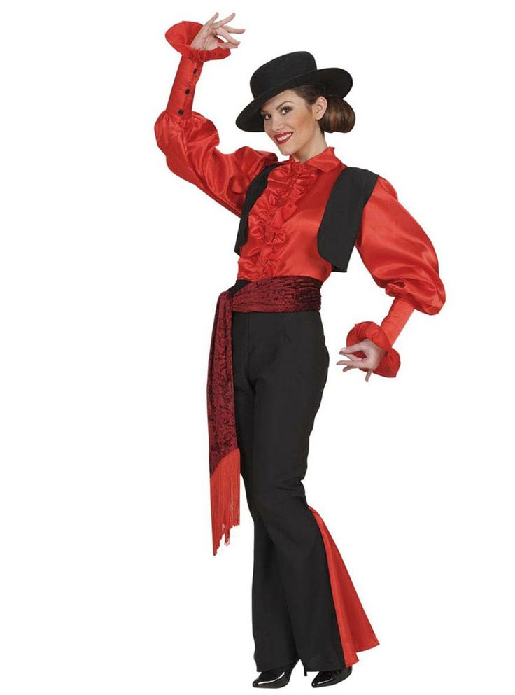 Disfraz de rumbera andaluza para mujer | Comprar