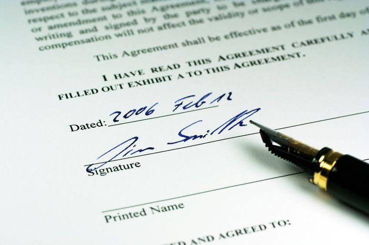 Agreements vs Principles.