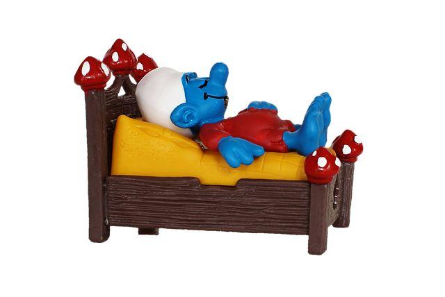 Photo By Capri23auto   Pixabay   #smurf #bed #sleep #decoration #decoração #decoracao #decorations #decoracion