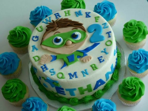 Super Why! #mimissweetcakesnbakes #superwhy #birthdaycake by tia