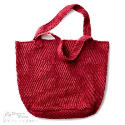 Free Easy Knit Tote Bag Pattern
