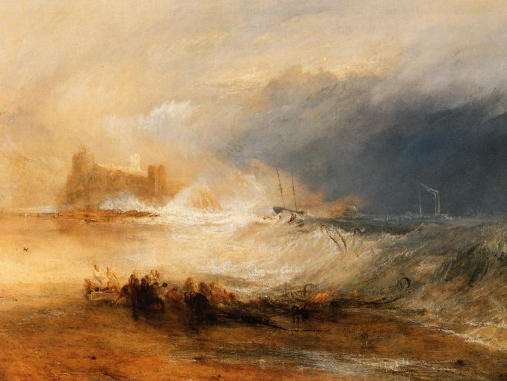 Joseph Mallord William Turner, Wreckers Coast of Northumberland, c. 1836