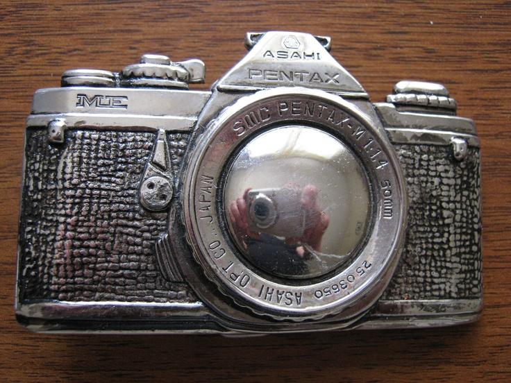 Pentax Camera Belt Buckle.