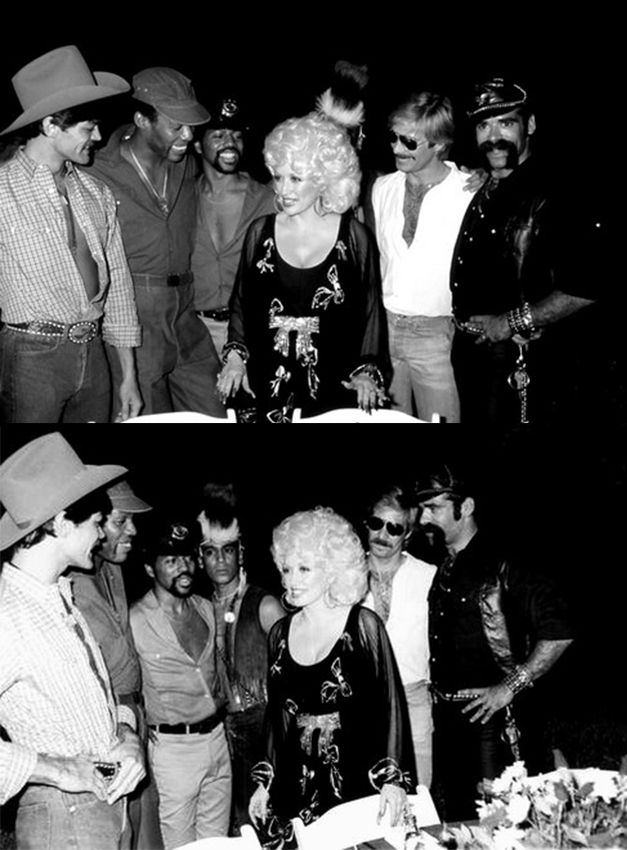 Dolly Parton & the Village People: Village People, 70S, Dolly Parton, The Village, Vintage Dolly