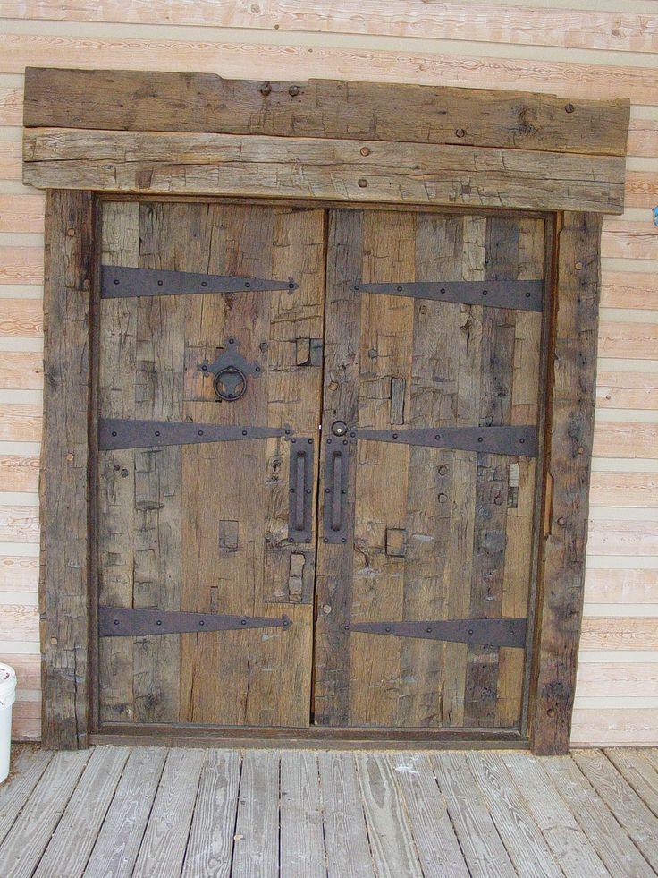 doors idea | Jody's Old Wood Barn | Pinterest