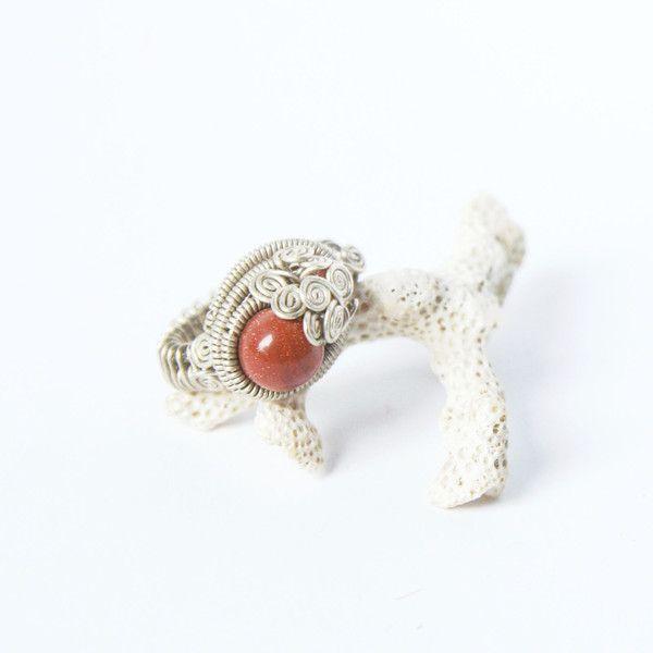 elegant+original+wrapped+ring+sun+rain+from+ArtePora+Craft+by+DaWanda.com