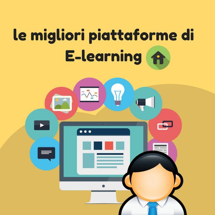 elenco delle migliori piattaforme #Elearning che offrono corsi online per apprendere in rete, siti #edu-tech specializzati nelle vendite..