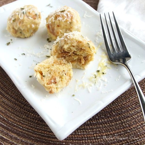 Italian Canederli (also known as knödel in Germany)