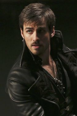 captain hook once upon a time -wow!