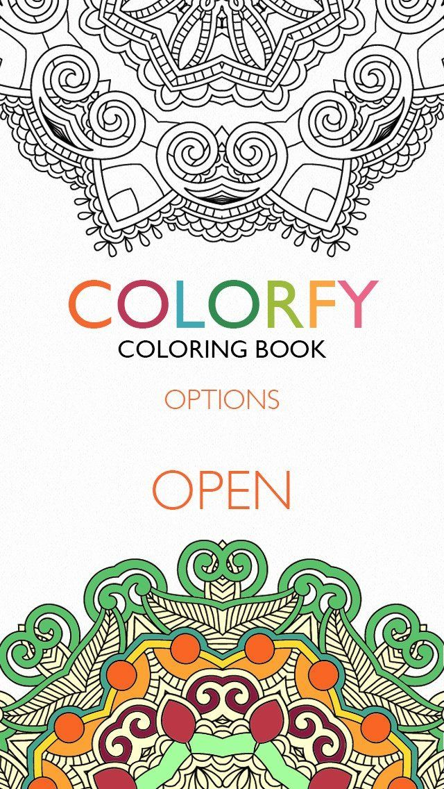 Coloring Book For Adults Download Fresh Download Colorfy Coloring Book For Adults Android App For In 2020 Coloring Books Coloring Book App Colorfy