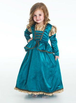 Your child will be the star of the show in this brand new elegant Scottish Princess dress.
