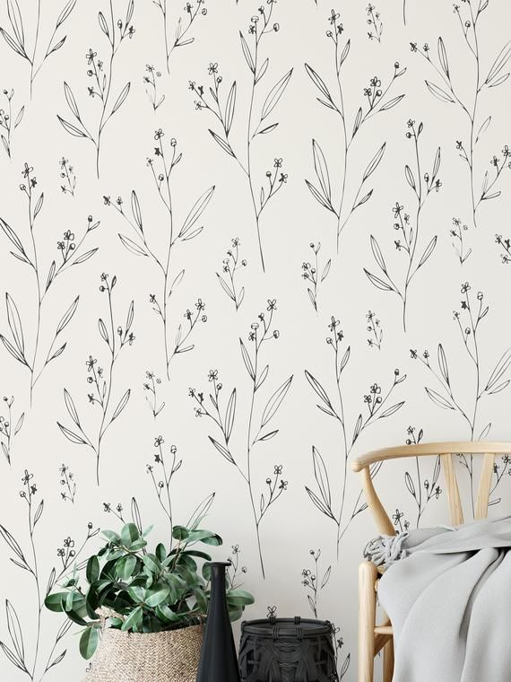 Modern And Minimal Wallpaper Removable And Self Adhesive Peel And Stick Wallpaper Accent Wall Mural Any Color Available Minimal Wallpaper Peel And Stick Wallpaper Accent Wall