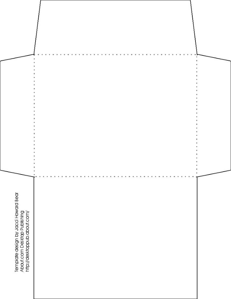 17 migliori idee su Envelope Pattern su Pinterest Buttare le - small envelope template