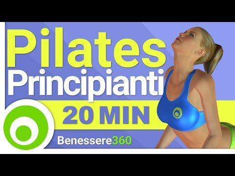 20 Minuti di Pilates per Principianti, Esercizi per Avere un Corpo magro e Tonico - YouTube