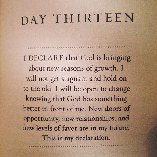 Joel Osteen - I declare Day 13 | God - Osteen quotes | Faith quotes