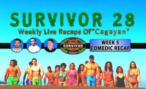 Survivor Cagayan: Week 5 Recap W/ Jeffry From Opposite Worlds!  Jeffry from Opposite Worlds is back to discuss his favorite reality show… SURVIVOR!    #Survivor #Survivor28 #SurvivorCagayan #Cagayan #BrawnBrainsBeauty FANS FOR AN ENHANCED VIEWING WATCH HERE: http://www.yourrealityrecaps.com/survivor-cagayan-week-5-video-recap-w-jeffry-calle/