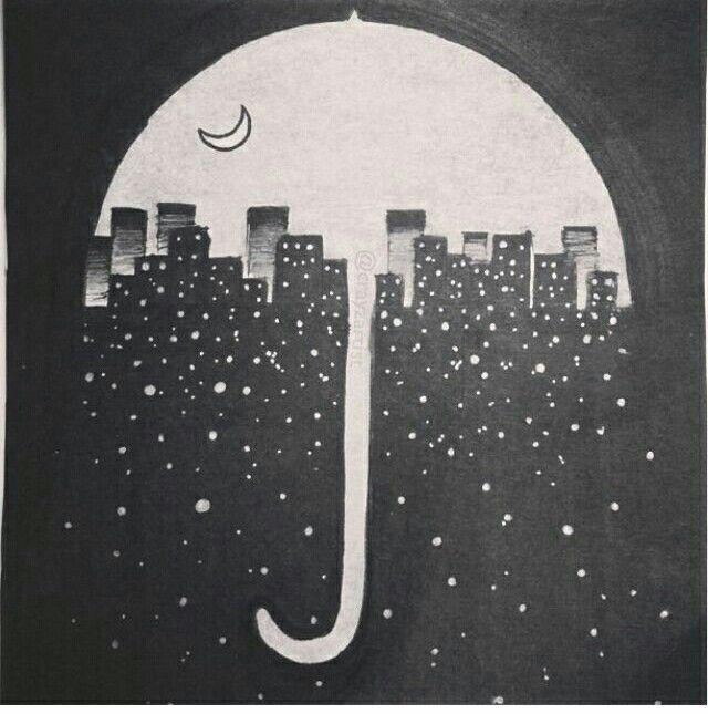 City at night. .