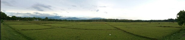 """""""BUTLAY"""" View from my mom's hometown, San Agustin, Iba, Zambales."""