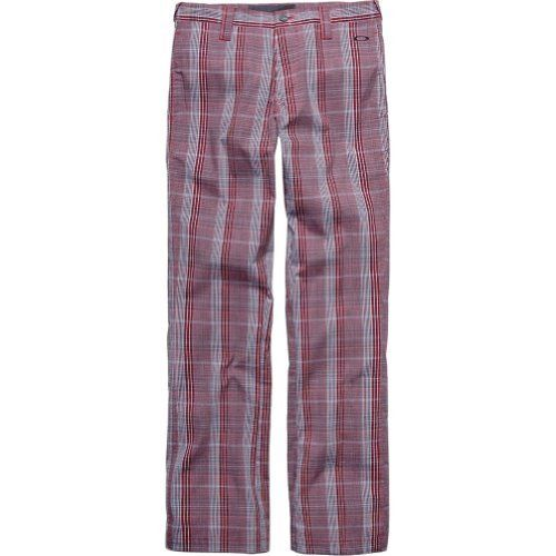 Oakley Swagger 2.0 Men's Golf Pants - Rhone / Size 40 by Oakley. $75.00. Most golf pants deserve a two-stroke penalty for style. Add another stroke for lame attitude. We create designs for players who want an edge of finesse without sacrificing individuality. This one is called the Swagger Pant 2.0, and we crafted it with cotton and resilient spandex for a performance feel. Welt pockets and a stitched logo dress the back, and the sides are refined with a narrow panel that run...