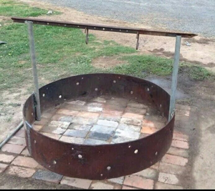 Fire pit and campoven attachments