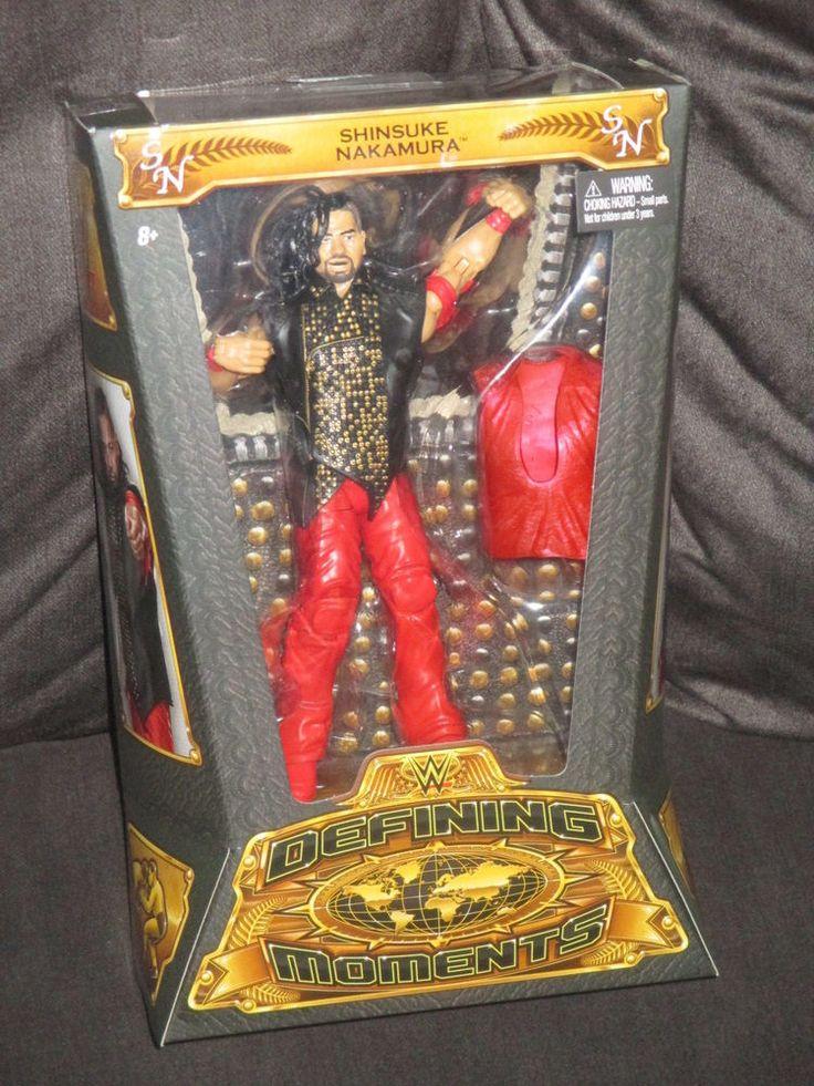 Shinsuke Nakamura WWE Defining Moments NXT Mattel Elite Figure-MNIB VHTF  #Mattel
