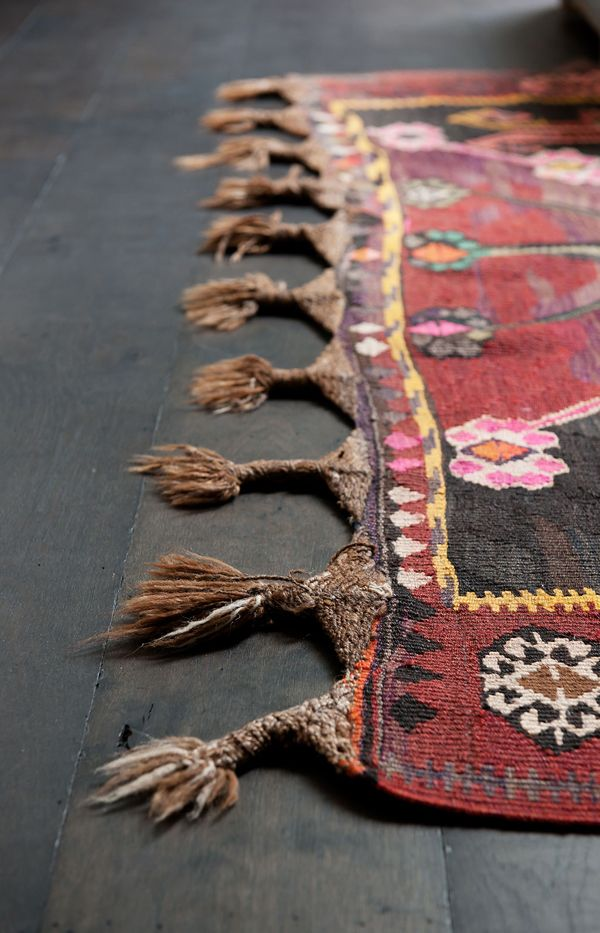 Lovely old hand-knotted rug