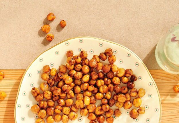 Roasted chick pea snack - Real Recipes from Mums