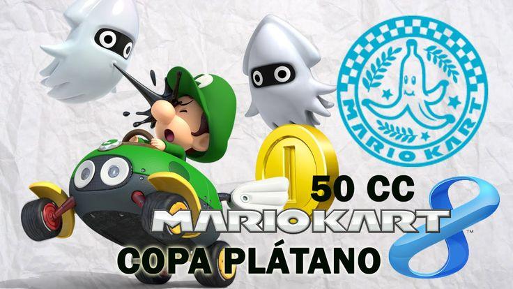 Mario Kart 8 Copa Plátano - En español jugando con Bebé Luigi. Gameplay de Mario Kart 8, Copa Plátano en español jugando con Bebé Luigi 50 cc. Mario Kart 8 Wii U. Visita mi sitio web: http://www.adverglitch.com