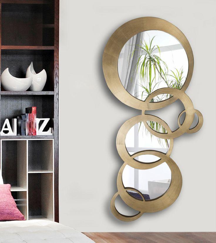17 mejores ideas sobre espejos modernos en pinterest for Espejos grandes decorativos