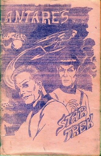 """In honor of Leonard Nimoy's passing, Wendy and Richard Pini, creators of ElfQuest, shared Wendy's first piece of published art - this picture of Spock and Kirk. The interconnectedness of the """"fandom"""" worlds is amazing. The pair without whom we might not have a thriving independent comics industry in the US, inspired by the show without which we might never have had such a thriving, mainstream Science Fiction genre. Beyond Star Trek, Nimoy did so much to make the world a better place. His…"""