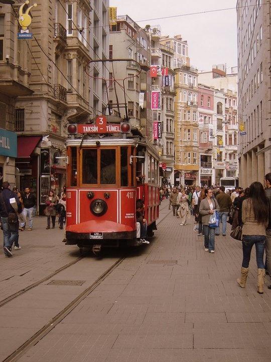 Istiklal Streeet -Beyoglu / Turkey