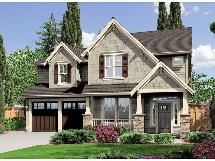 Best Floor Plans Images On Pinterest Architecture Home Plans - Country house plans 2 story home