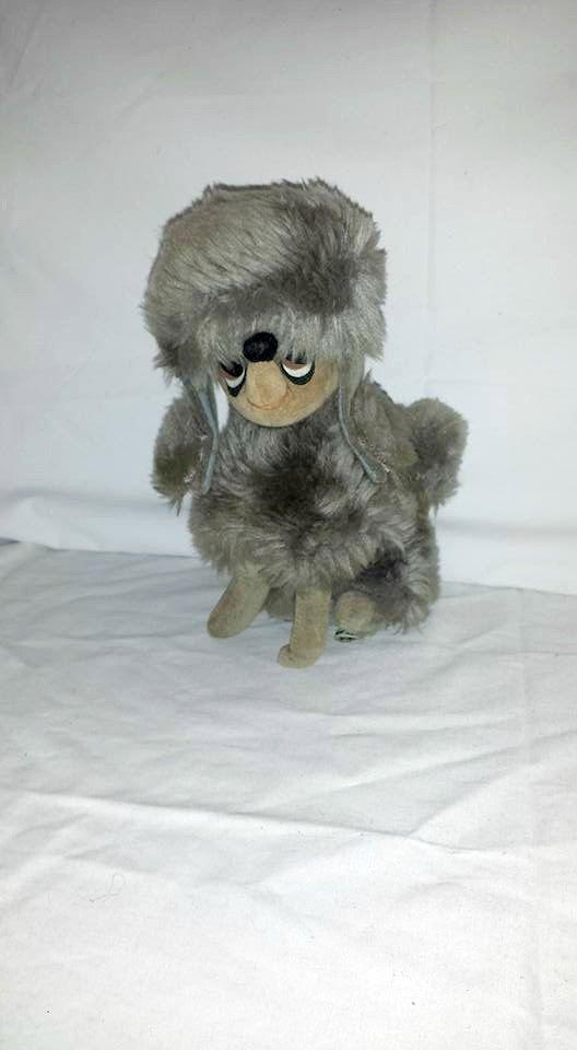 Vintage Kamar Poodle Plushie, Dream Pets, Kamar, Sheree, Saw Dust Pet, Japan, Stuffed Poodle, 1960s, Doll King, Cloth Tag Intact, MOD, MCM by JunkYardBlonde on Etsy