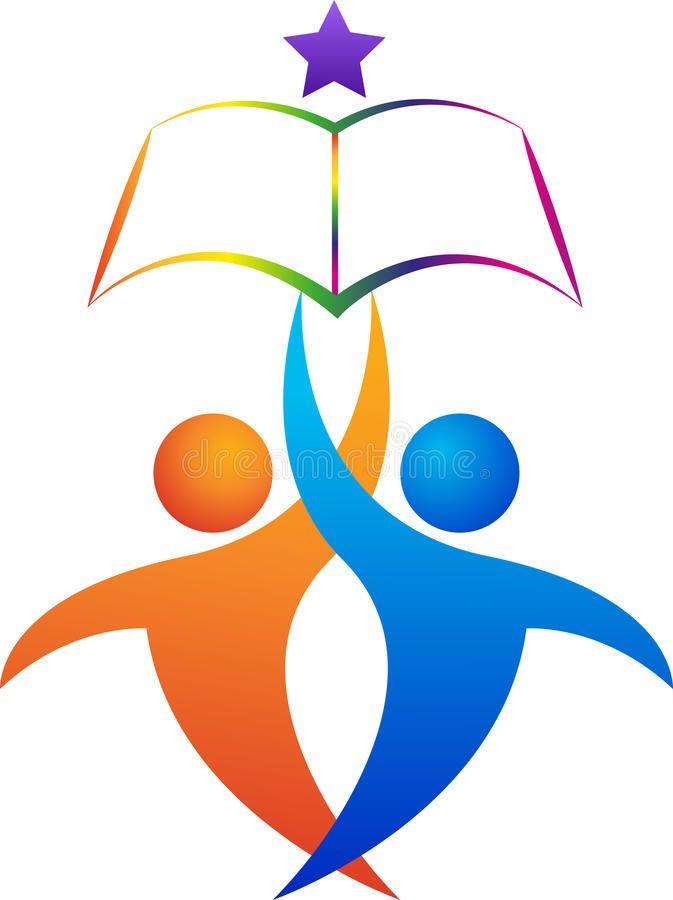 Education Logo Illustration Of Education Logo Design Isolated On