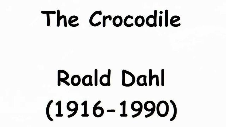 A poem by Roald Dahl.