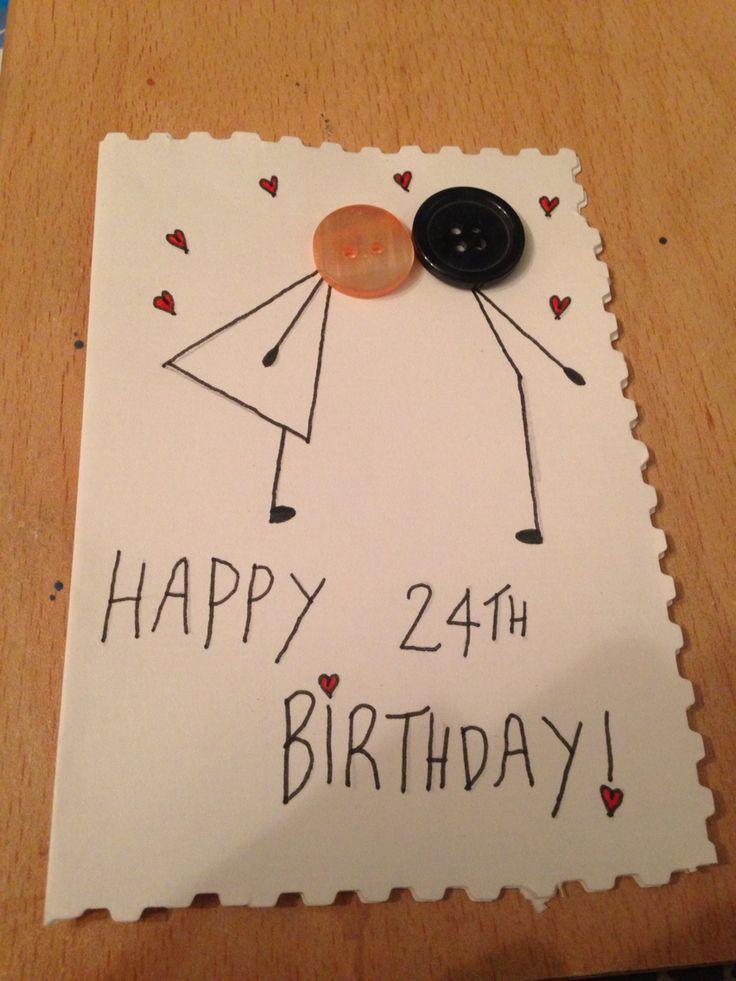Birthday card that i made for my boyfriend it was super