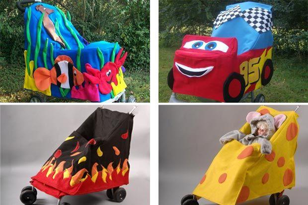 Costumi di Carnevale per bambini in passeggino