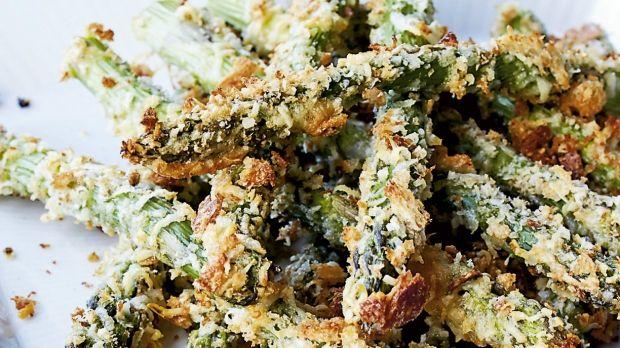 Sprøde asparges-stænger