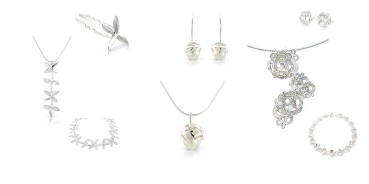 Blær and Salka with their flower motifs are perfekt for summer brides, and Perla is always a classic choice.