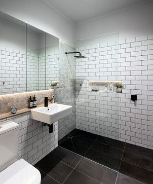 West Footscray Kitchen and Bathroom contemporary-bathroom