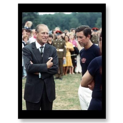 No.48 príncipe Philip-Príncipe Charles 1983 Cartao Postal por picturestation