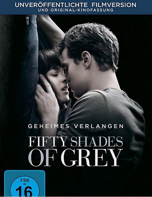 Fifty Shades of Grey - Geheimes Verlangen. Auf DVD inklusive einer unzensierten Version mit einem bisher nie gesehenen, alternativen Ende! #shadesofgrey #dvd #film #weltbild