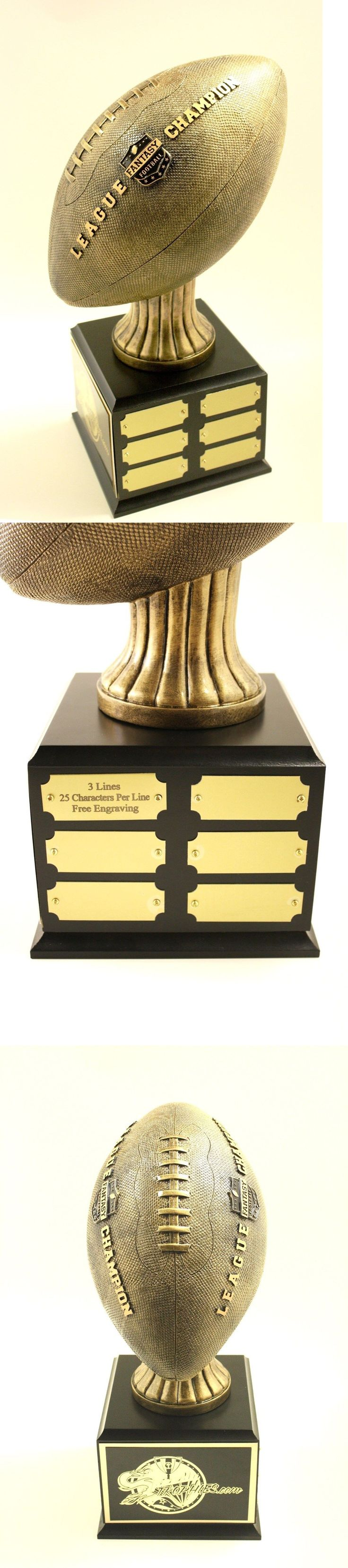 Other Football 2024: Fantasy Football Trophy 18 Year Perpetual- Free Engraving!!! Ships In 1 Day!! -> BUY IT NOW ONLY: $94.99 on eBay!